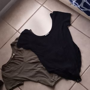 Set Of Two Body Suits Womens Size Large